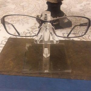 Burberry Titanium Full Frame Silver Glasses